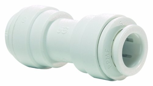 John Guest Speedfit PP0408W 1/4OD Union Connector, by John Guest Speedfit - John Guest Union Connector