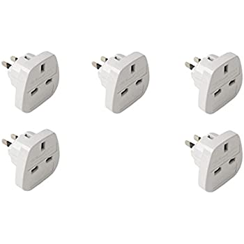 Hq 5 Pack Of Uk To Usa Amp Canada Travel Adaptor Plugs Dj2go