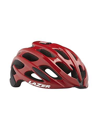 Lazer Blade + - Велосипедный шлем - красный / черный контур головы L | 58-61cm 2019