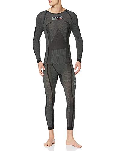 SIXS Carbon Funktions-Unterbekleidung Overall schwarz L - Motorrad Unterbekleidung -