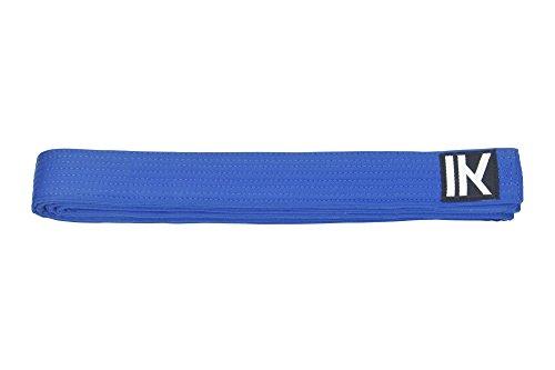 Kampfsportgürtel Budogürtel   Alle Farben und Größen   100% Baumwolle (Blau, 300cm)