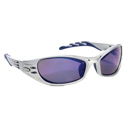 3M Fuel Schutzbrillen, Spiegel Objektiv, Silver Frame/Blue Mirror Lens, 1