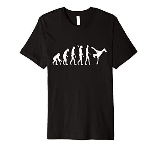 Capoeira Evolution Kampfsport Entwicklung Brasilien T-Shirt