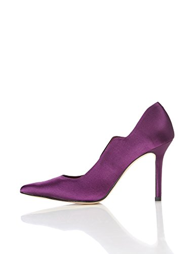 FIND Damen Pumps, Violett (Purple), 38 EU