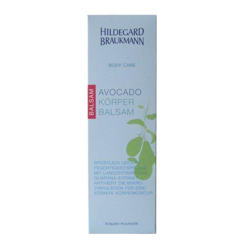 Hildegard Braukmann Body Care femme/women, Avocado Körper Balsam, 1er Pack (1 x 200 ml)