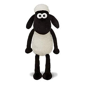 Shaun the Sheep 61174 - Peluche de Peluche, Color Blanco y Negro, 30,5 cm, Apto para Adultos y niños