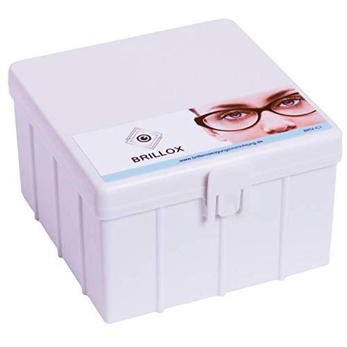 BRILLOX - Brillenreinigungs-Gerät ohne Strom oder Ultraschall - Brillenreiniger - Optiker Reinigung für Zuhause - perfekte Brillenreinigung in Sekunden - Brillenputzgerät und Brillenbad