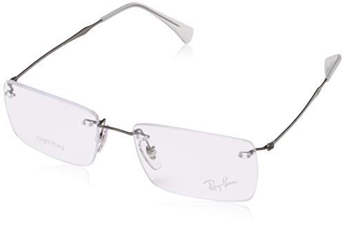 Ray-Ban Herren 0rx 8755 1000 54 Brillengestelle, Mehrfarbig (Gunmetal)