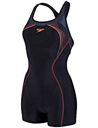 Speedo Damen Fit Legsuit Kickback Badeanzug