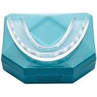 NUEVO Férula Dental Placa de Descarga Nocturna Protector Bucal para dormir anti Bruxismo Rechinar los dientes y los Trastornos del ATM