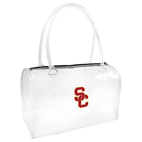 Littlearth NCAA USC Trojaner Damen Alternate Bowler Handtasche, One size, transparent