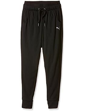 Puma pantalones para niños pantalones Active Dance G Negro negro Talla:140