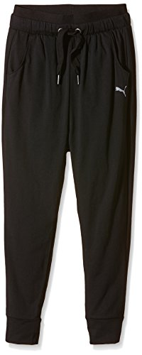 PUMA Kinder Hose Active Dance Pants G, Black, 152, 836670 01 (Kordelzug Pant Dance)