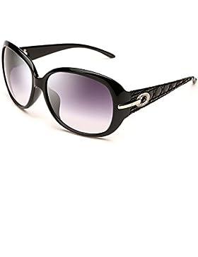 LIZHIQIANG Gafas De Sol De Conducción Polarizadas, Gafas De Moda Elegantes Del Marco De La Moda De Las Mujeres...