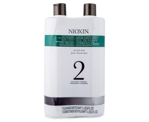 Système Nioxin 2Nettoyant et thérapie du cuir chevelu Après-shampoing, 33,8onces