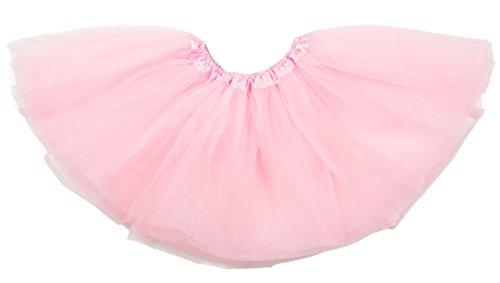 (Dancina Mädchen Tüllrock Tutu Ballettrock Classic 2-7 Jahre Rosa)