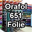 Oracal Orafol 651 Folie 5m freie Farbwahl 55 glänzende Farben - glanz in 4 Größen, 63 cm - Farbe 23 - Farbe creme