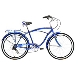 Schwinn Clairmont 26'' Cruiser Men's Hybrid Bike - Blue