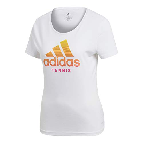 adidas Category T-Shirt Femme, Blanc, FR (Taille...