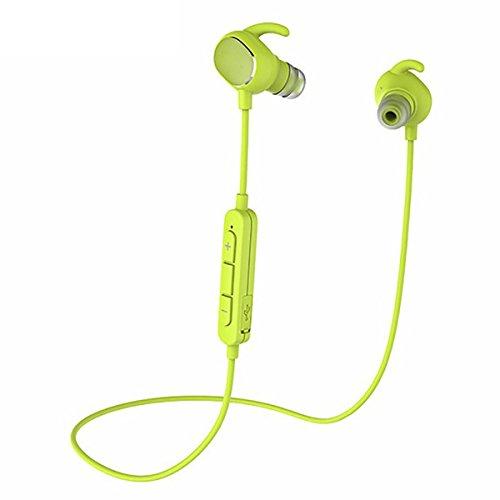 Bluetooth Sport Headset, ELEGIANT Wireless Bluetooth 4.1 Sport Kopfhörer Ohrhörer wasserdichte IPX4 In Ear Stereo Ohrhörer Headphone Earphone mit Geräuschunterdrückung / Apt-X / Mikonfon Mic für Bluetooth-fähigen Smartphone IOS Anroid ipod ipad iPhone 6 6s 5s 5 4s 4, Samsung Galaxy s6, s7 Edge A7 A5 A3 HTC LG Huawei usw (Ipod Headset Wireless)