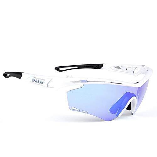 Polarisierte Sport Herren Sonnenbrille Radfahren laufbrille polarisierte sport sonnenbrille superlight rahmen design für herren und frauen 2 austauschbare linsen 8 farben Ski fahren Golf Laufbrille
