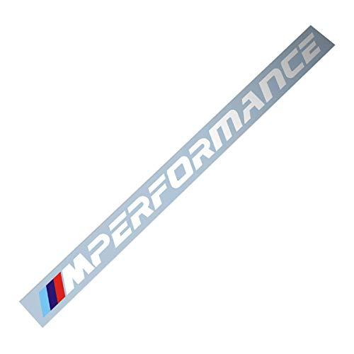 Demupai - Windschutzscheibe Banner Aufkleber vinyl - Aufkleber für M Performance (New Font)