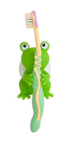 Mommy's Helper Frog and Duck Toothbrush Holder (Pack of 2)