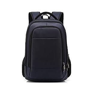 FANDARE Mochila para 14 Pulgadas Laptop Bolsa de Escuela Hombre Mujer Mochilas Tipo Casual Bolsos Bolsa de Viaje Niño Adolescentes Gran Capacidad Knapsack Daypack Impermeable Poliéster Azul