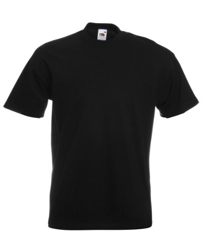 Fruit of the Loom Super Premium T-Shirt schwarz XL XL,Schwarz