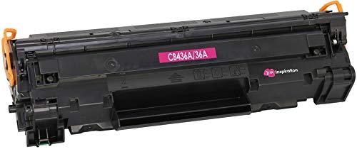 INK INSPIRATION® Premium Toner kompatibel für HP CB436A 36A Laserjet P1505 P1505n P1506 M1120 MFP M1120n MFP M1520 M1522n MFP M1522nf MFP Canon i-SENSYS LBP-3250   2.000 Seiten