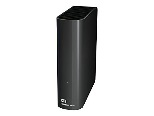 Western Digital Elements 3TB 3.5-inch USB 3.0 External Hard Drive with Power Adapter