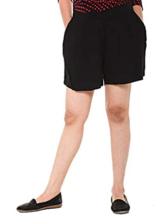EASY 2 WEAR ® Women Cotton Rayon Shorts (Size S to 4XL) Comfort FIT and Plus Sizes