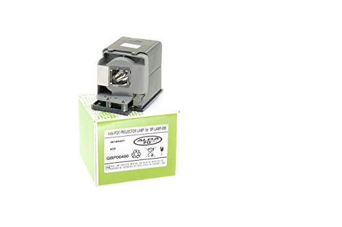 Alda PQ-Premium, Beamerlampe/Ersatzlampe kompatibel mit SP-LAMP-058 für INFOCUS IN3114, IN3116, IN3194, IN3196 Projektoren, Lampe mit Gehäuse Lampe Sp-lamp