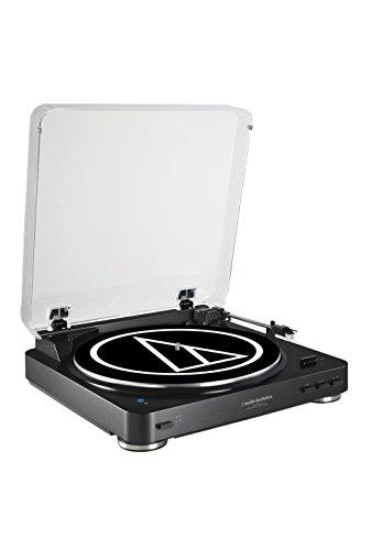 NO.1#BEST TURNTABLES AUDIO TECHNICA ATLP60BT BLUETOOTH TURNTABLE (BLACK) REVIEWS BUY PRICE UK