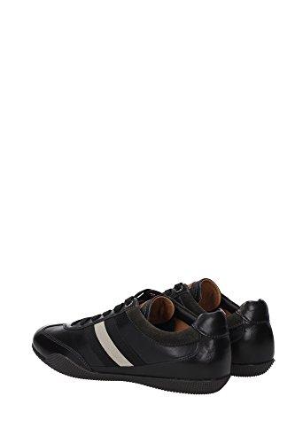 ZIBLER106171307 Bally Sneakers Homme Cuir Noir Noir