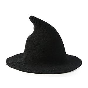 Sombrero de bruja moderno para