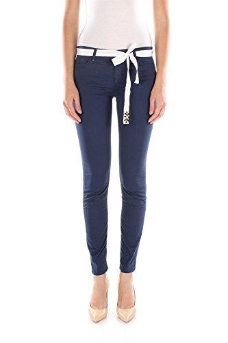 Jeans Twin-Set Donna Cotone Blu S5JJ2S53F00384 Blu 27