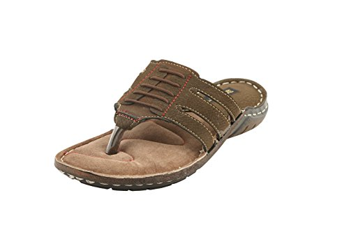 BACCA-BUCCI-MEN-OLIVE-LEATHER-SLIPPERS