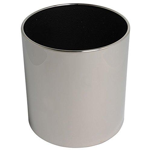 hydroflora-61412500-maceta-value-line-cycle-budget-diametro-30-cm-altura-30-cm-acero-inoxidable-v2a-