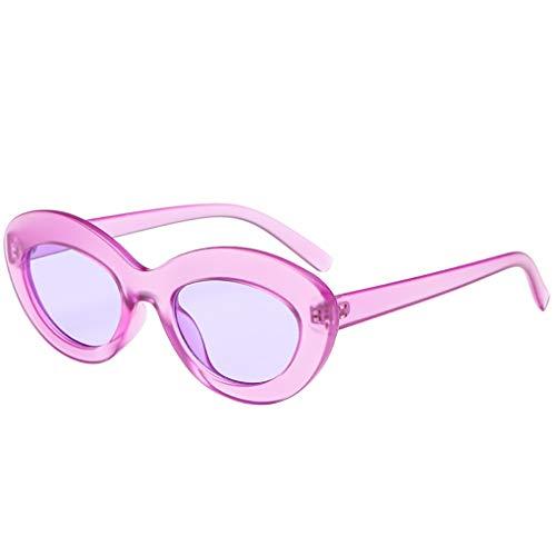 Dorical Vintage Brille für Unisex/Damen Herren Mode Sonnenbrille Großer Rahmen Retro Brille PC Frame Brille Dekobrillen Valentinstag Brille mit Federscharnier für Frauen Männer Sale