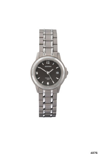 Sekonda Damen-Armbanduhr Analog Titan silber 4876.27