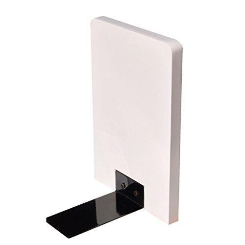 DFHHG® Estantería de libros de madera 200 * 14 * 134mm blanco durable ( Color : #2 )