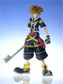 Kingdom Hearts 2 Play Arts Sora 18cm Figur