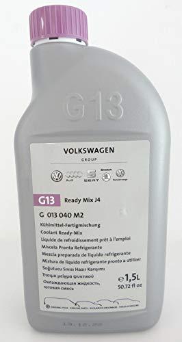 Original Kühlmittel G13 1,5 Liter Flasche VW Audi Ready Mix J4