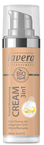 Lavera Tinted Moisturising Cream 3in1 Q10 -Honey Sand 03, 30 ml
