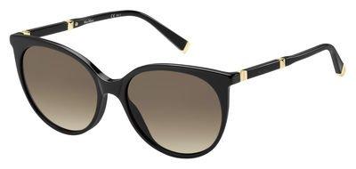 Safilo Design (Max Mara - MM DESIGN III, Schmetterling, Acetat, Damenbrillen, BLACK GOLD/BROWN SHADED(QFE/JD), 55/17/140)