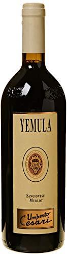 Umberto Cesari Vino Rosso Yemula Sangiovese Merlot Rubicone Igt - 2016-1 Bottiglia da 750 ml