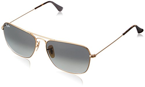c651665bcd Ray-Ban Gradient Rectangular Men Sunglasses (0RB3136181 7158