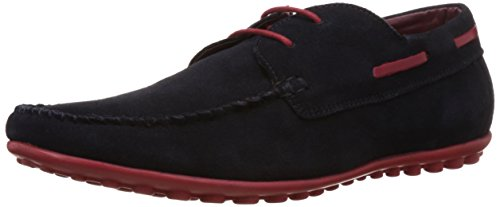 Allen Solly Asshl514072 Men S Navy Leather Boat Shoes 8 Uk Best