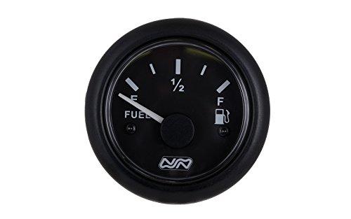 wellenshop Tankanzeige Kraftstoffanzeige Füllstandsanzeige 0-190 Ohm 12 V / 24 V Nuova Rade